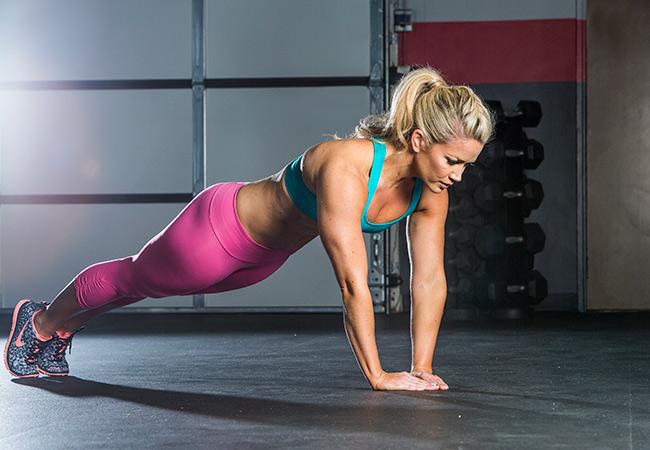 Diamond Push-Up: A Total Triceps Burner